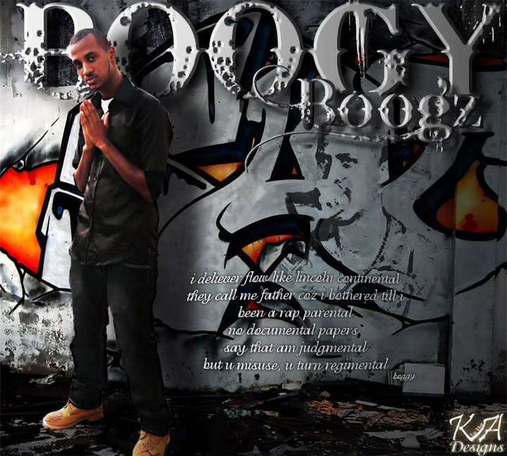 UAE stand out Rap Artist Boogy Boogz photo on RapTVLive.com front page