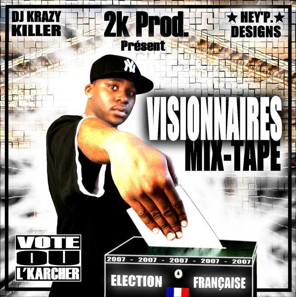 DJ Krazy Killa vissionary mixtape