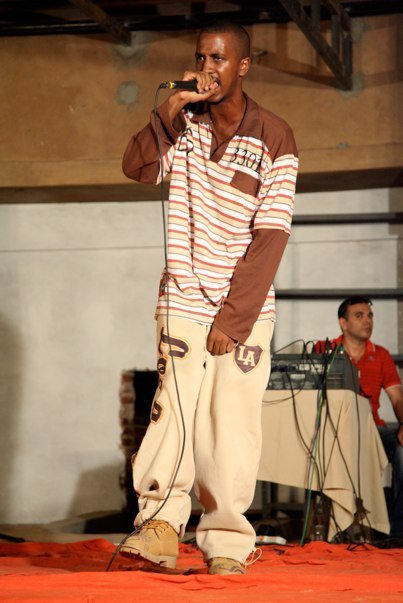 Boogy Boogz live on stage in the UAE a Deeper Ent International Rap Artist