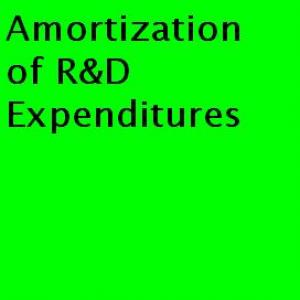 Amortization of R&D Expenditures on raptvlive.com