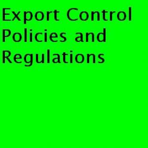 Export Control Policies and Regulations on raptvlive.com