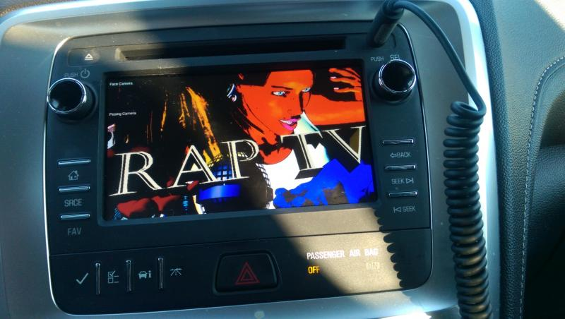Tune into Rap TV in your car every place where you have internet access