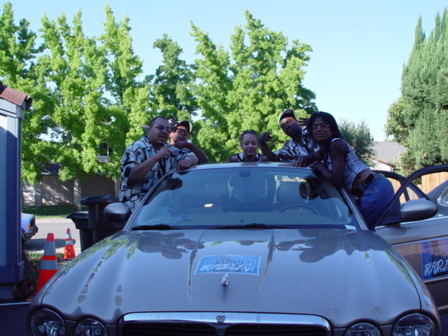 RapTV street team in action on tour