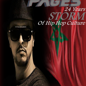 Hicham iflah aka Storm article September 2017 Rap Pages Magazine