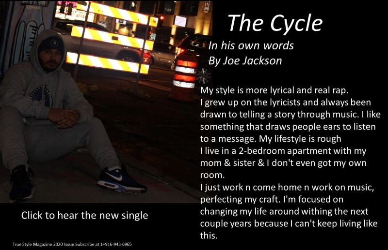 The up and coming artist spotlight article THE CYCLE