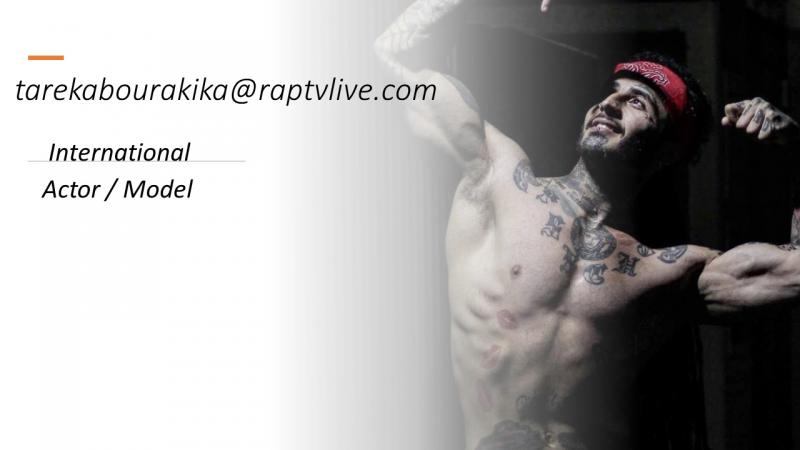 International Actor Model Tarek Abourakika on Rap TV