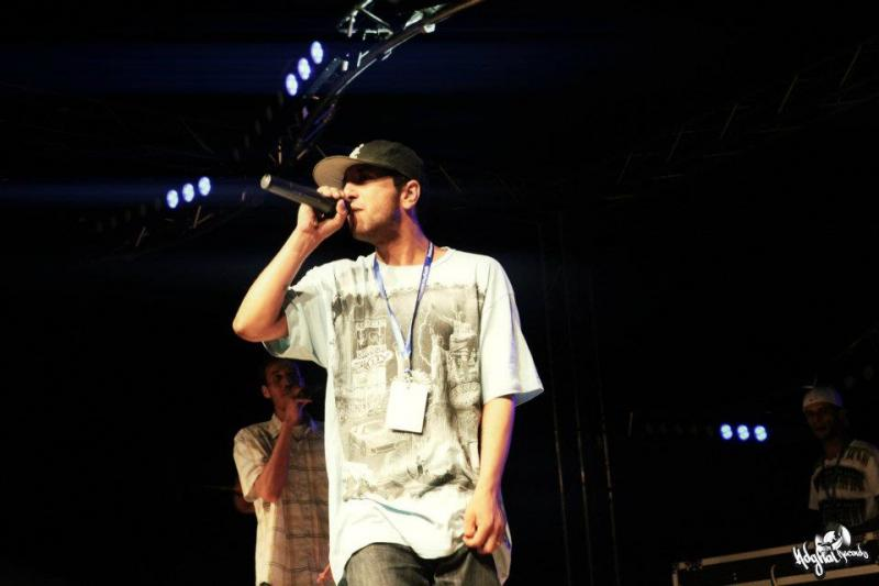Smowko live on stage for RapTV 2013