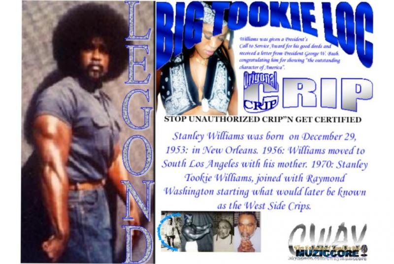 The Official Tookie Card on raptvlive.com The Crip Content Hub