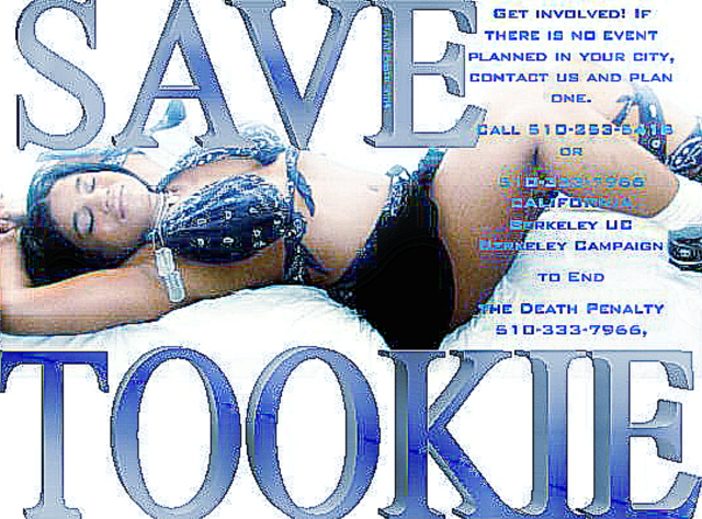 Shampel for the save Tookie Movement on raptvlive.com